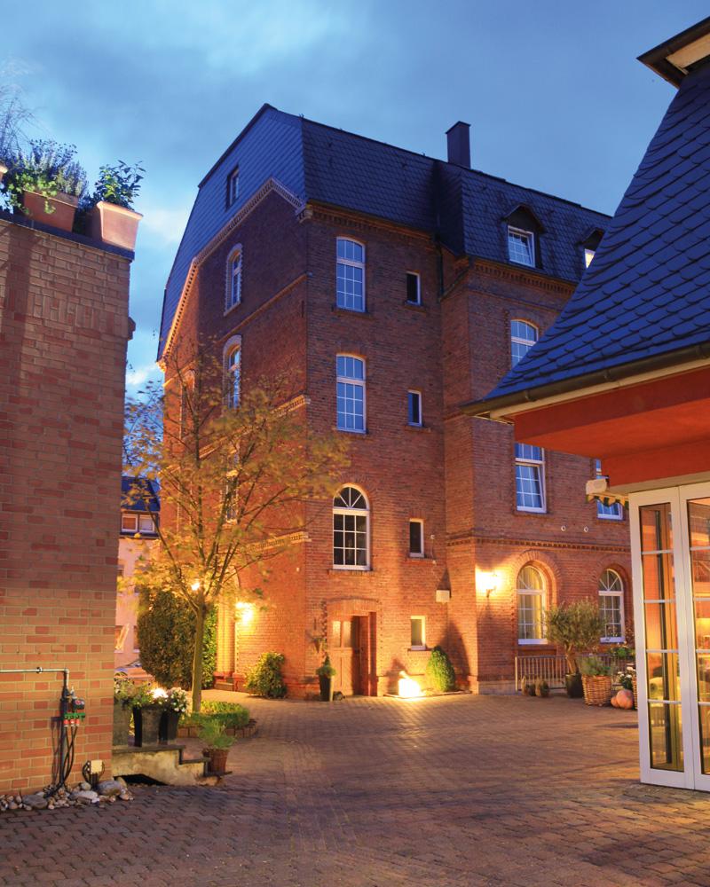 Hotel Stein nachts