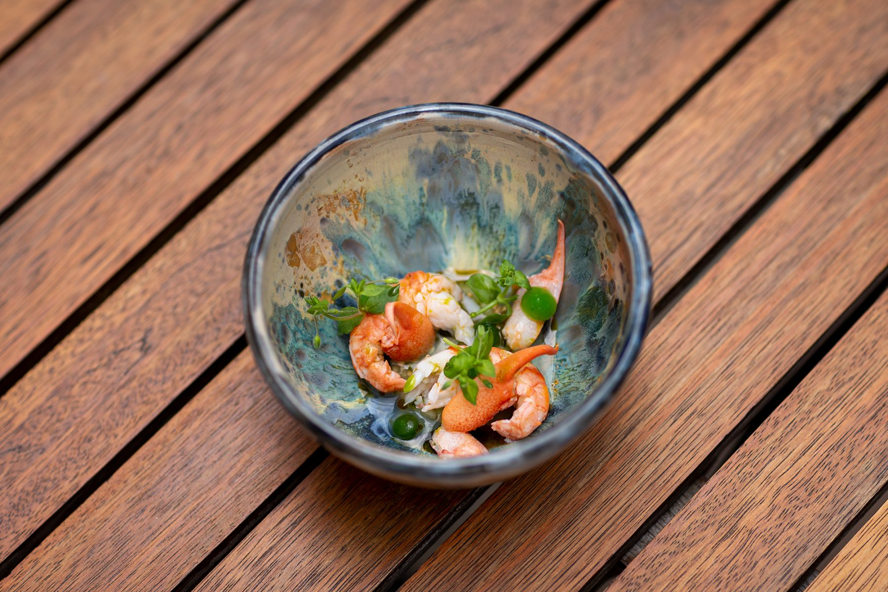 Schillers Restaurant - Flusskrebse+Gurke+Buttermilch2