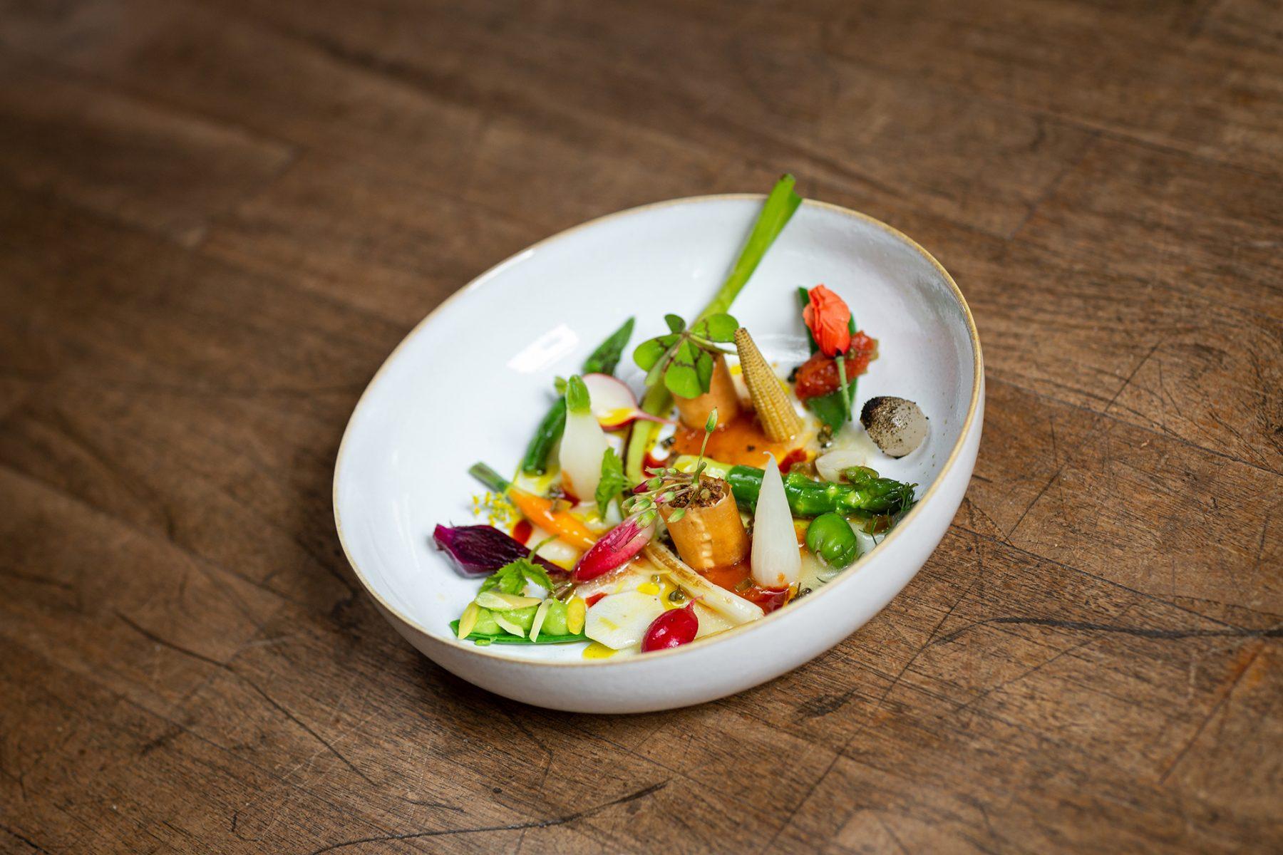 Schillers Restaurant - Sommergemüse mit Zitrusaromen1